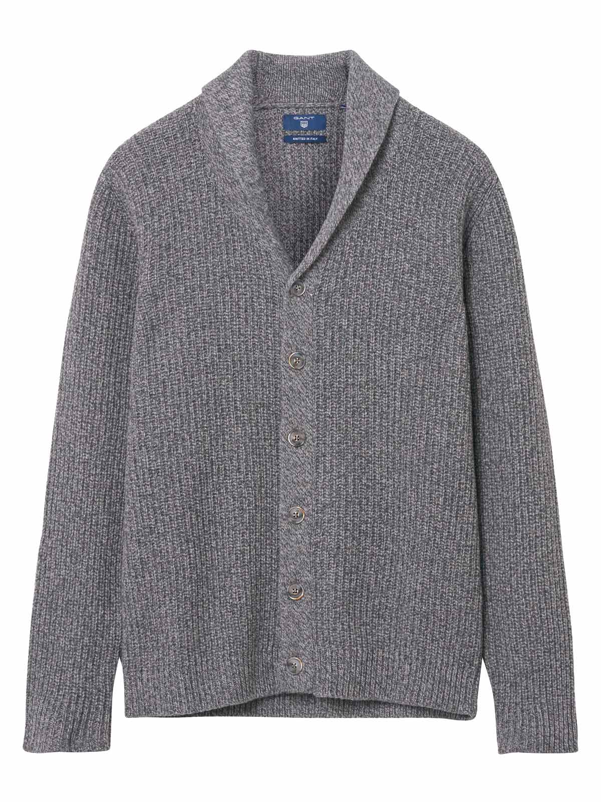 Picture of GANT | Men's Chunky Shawl Cardigan