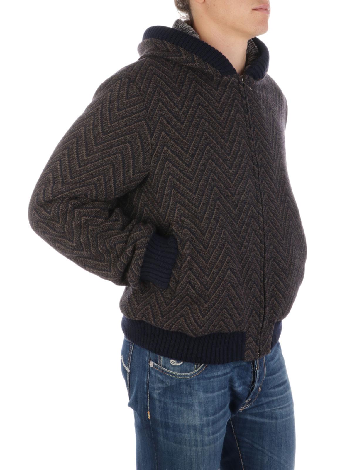 Immagine di EMPORIO ARMANI | Giacca Uomo Herringbone in Lana