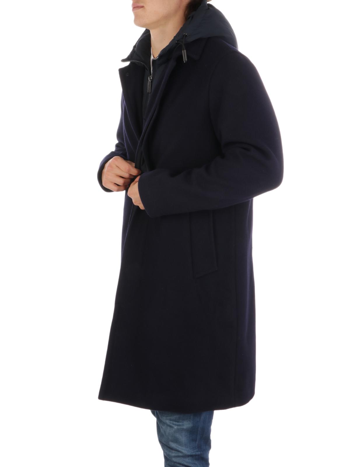 Picture of EMPORIO ARMANI | Men's Virgin Wool Coat