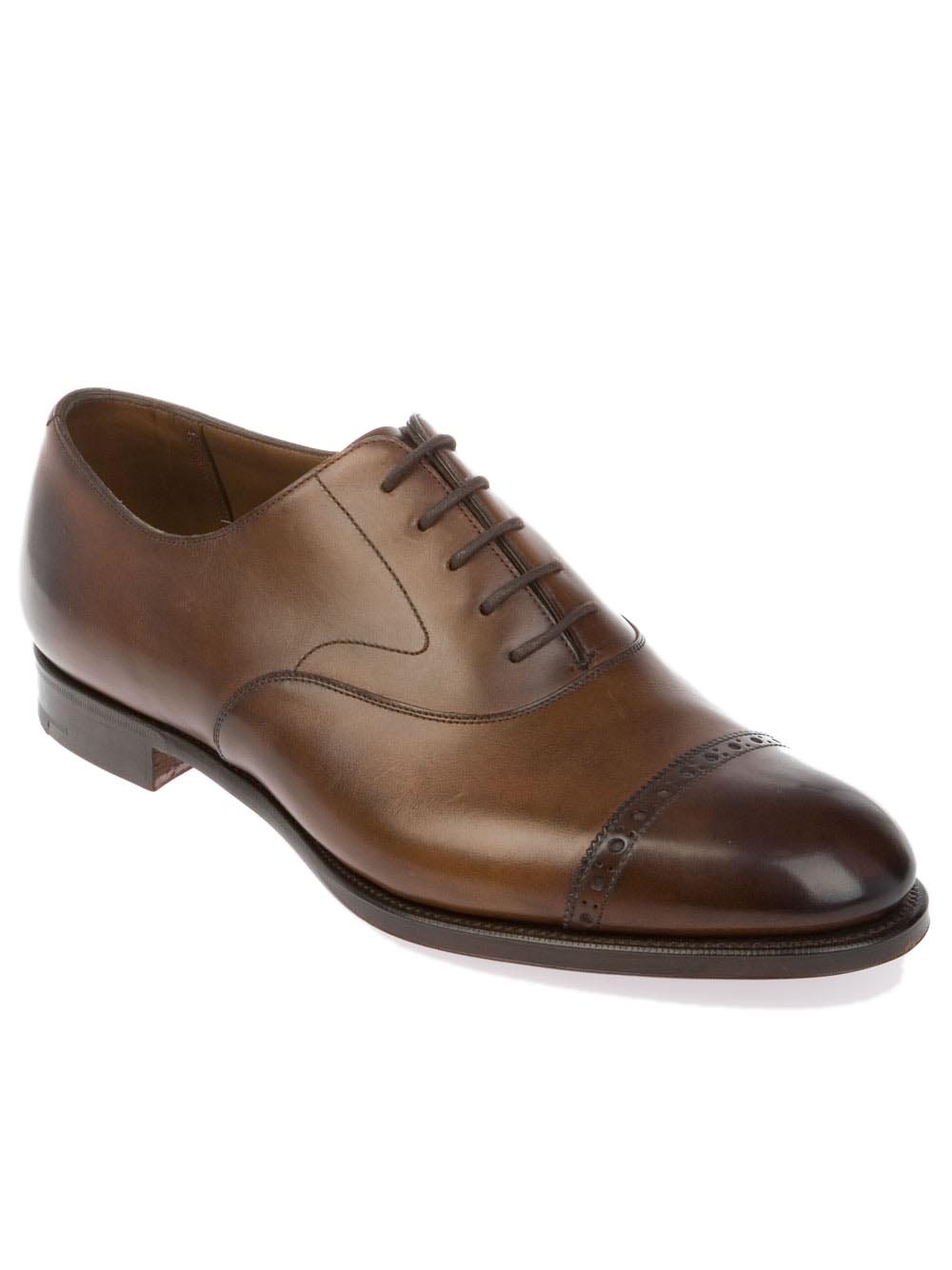 Edward Green Berkeley Shoe Dark Oak Antique | BERKELEY | Botta & B Online Store