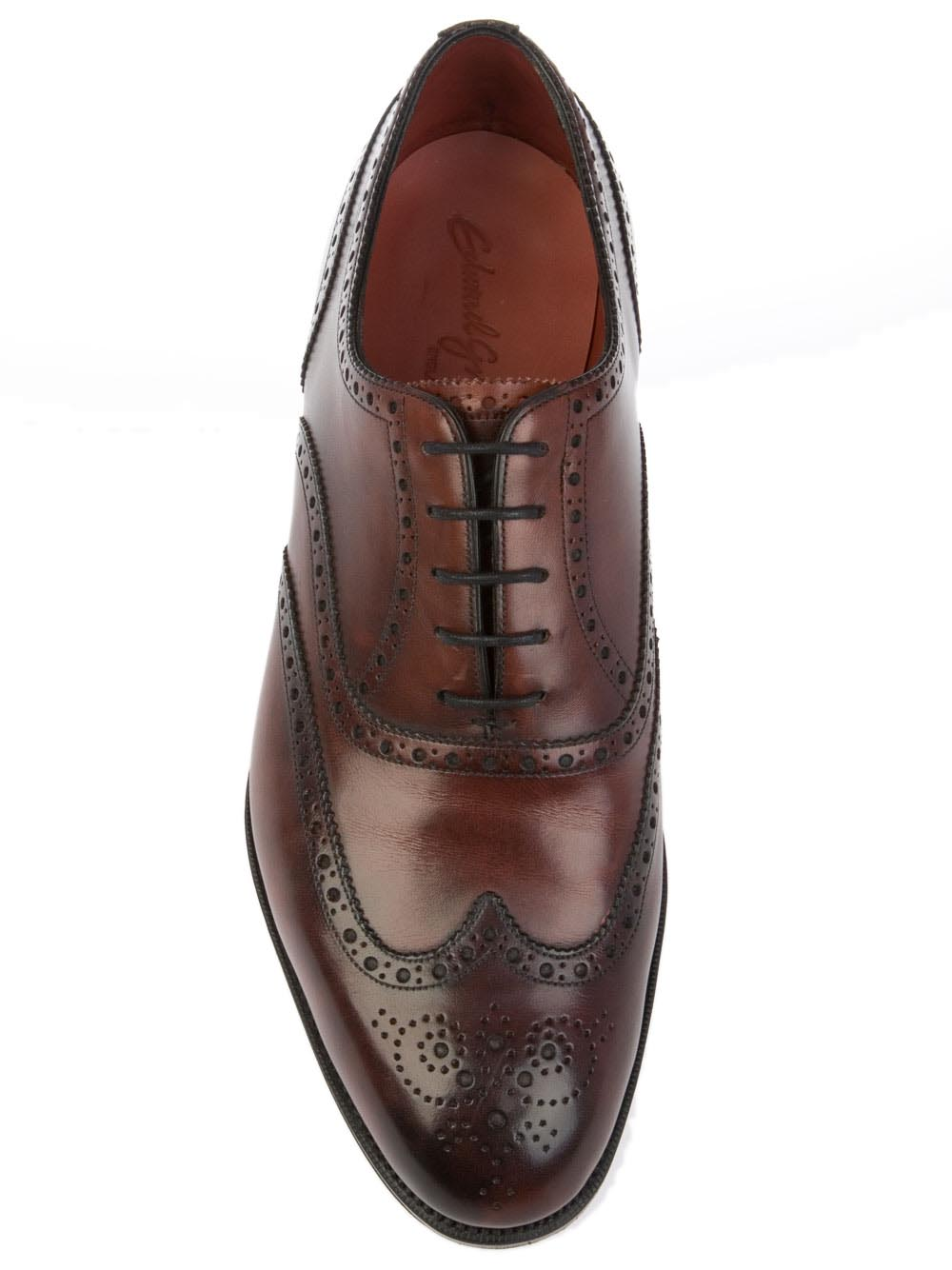 Edward Green Malvern Shoe Burgundy Antique | MALVERN | Botta & B Online Store