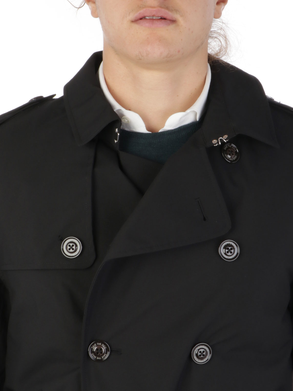 Picture of SAVE THE DUCK | Men's Padded Trench D4343M