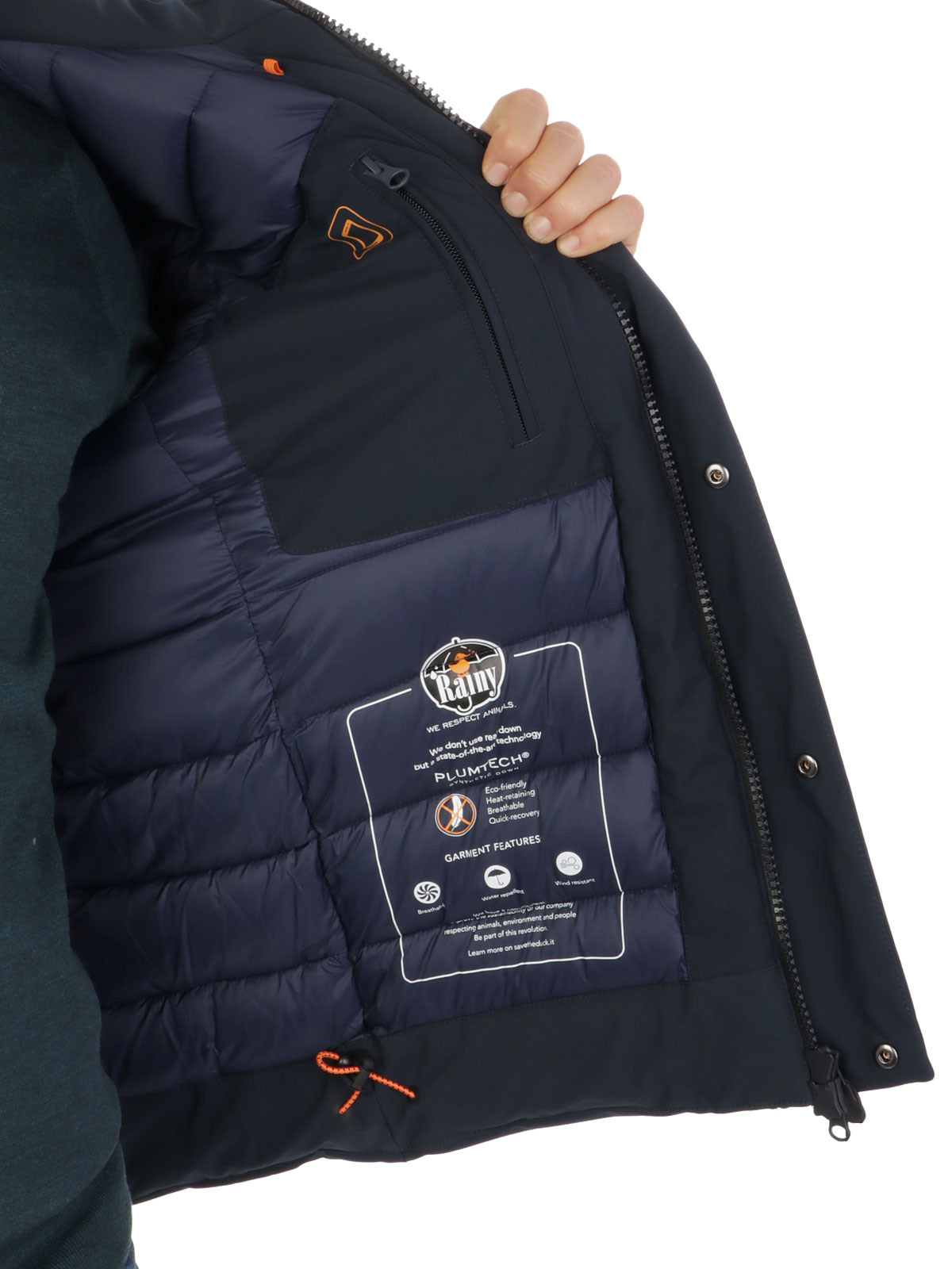 Picture of SAVE THE DUCK | Men's Padded Jacket D3659M
