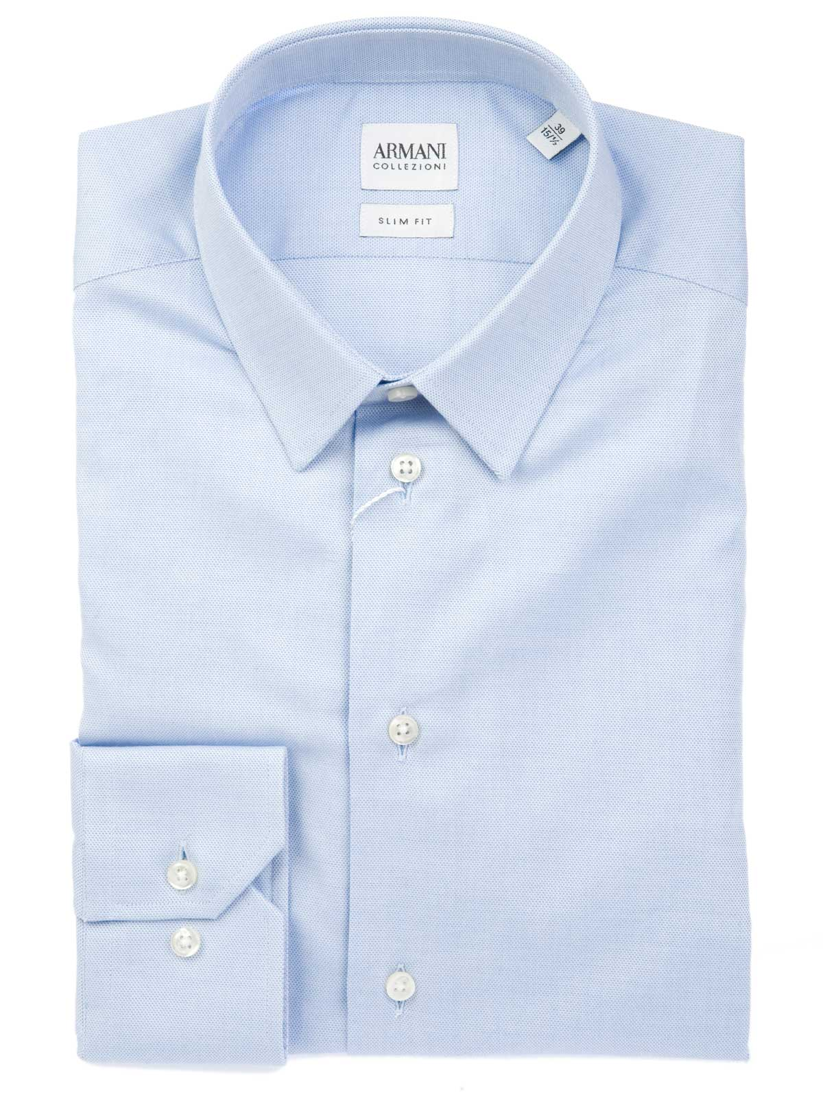 Picture of ARMANI | Woven Slim Shirt