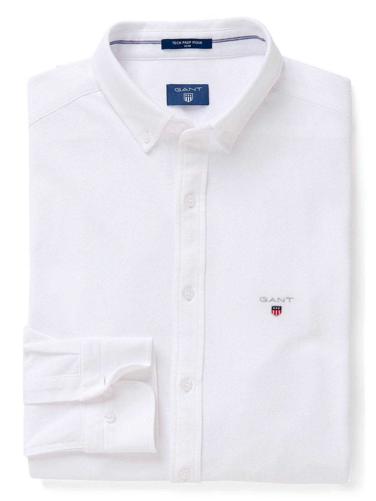 Picture of GANT   Men's Solid Slim Shirt