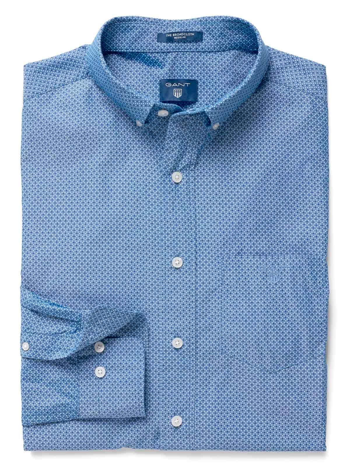 Picture of GANT   Men's Broadcloth Dot Shirt