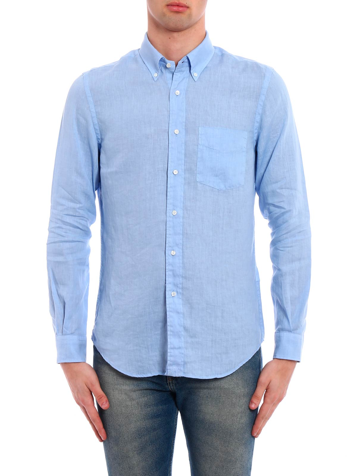 Picture of ASPESI | Men's Linen Shirt