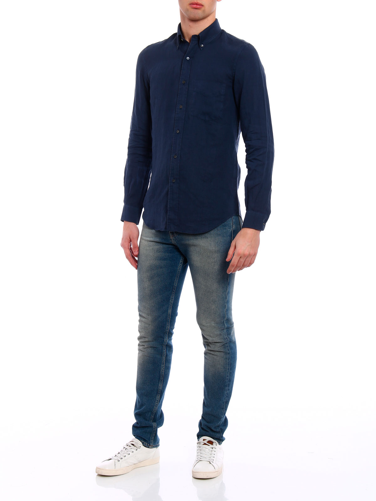 Immagine di ASPESI | Camicia Uomo in Lino