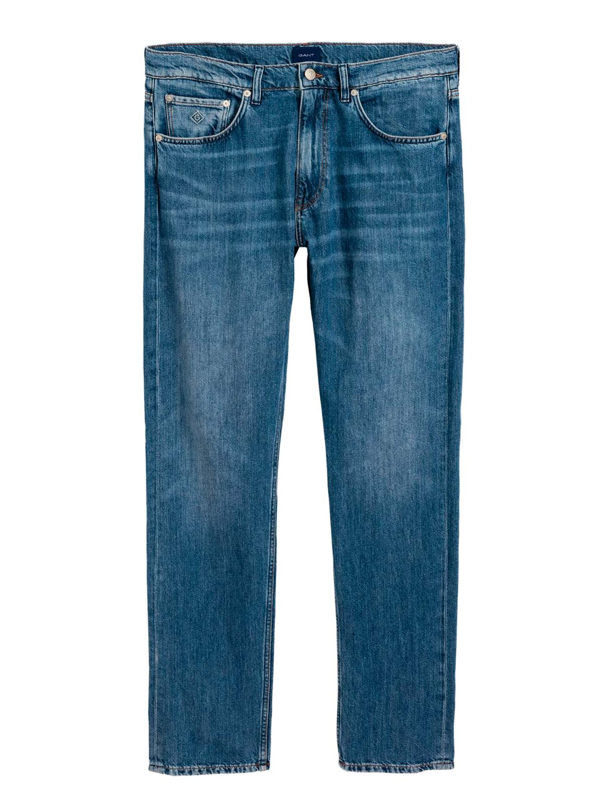 Picture of GANT | JEANS O2. RELAXED LINEN DENIM JEANS