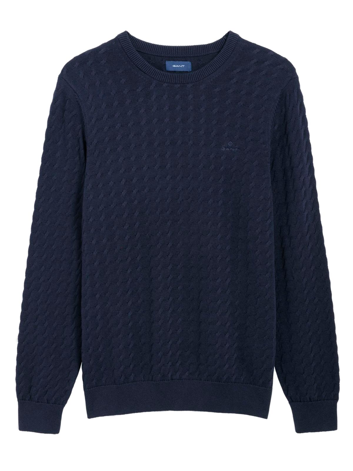 Picture of GANT | JERSEY CASUAL COTTON CREW