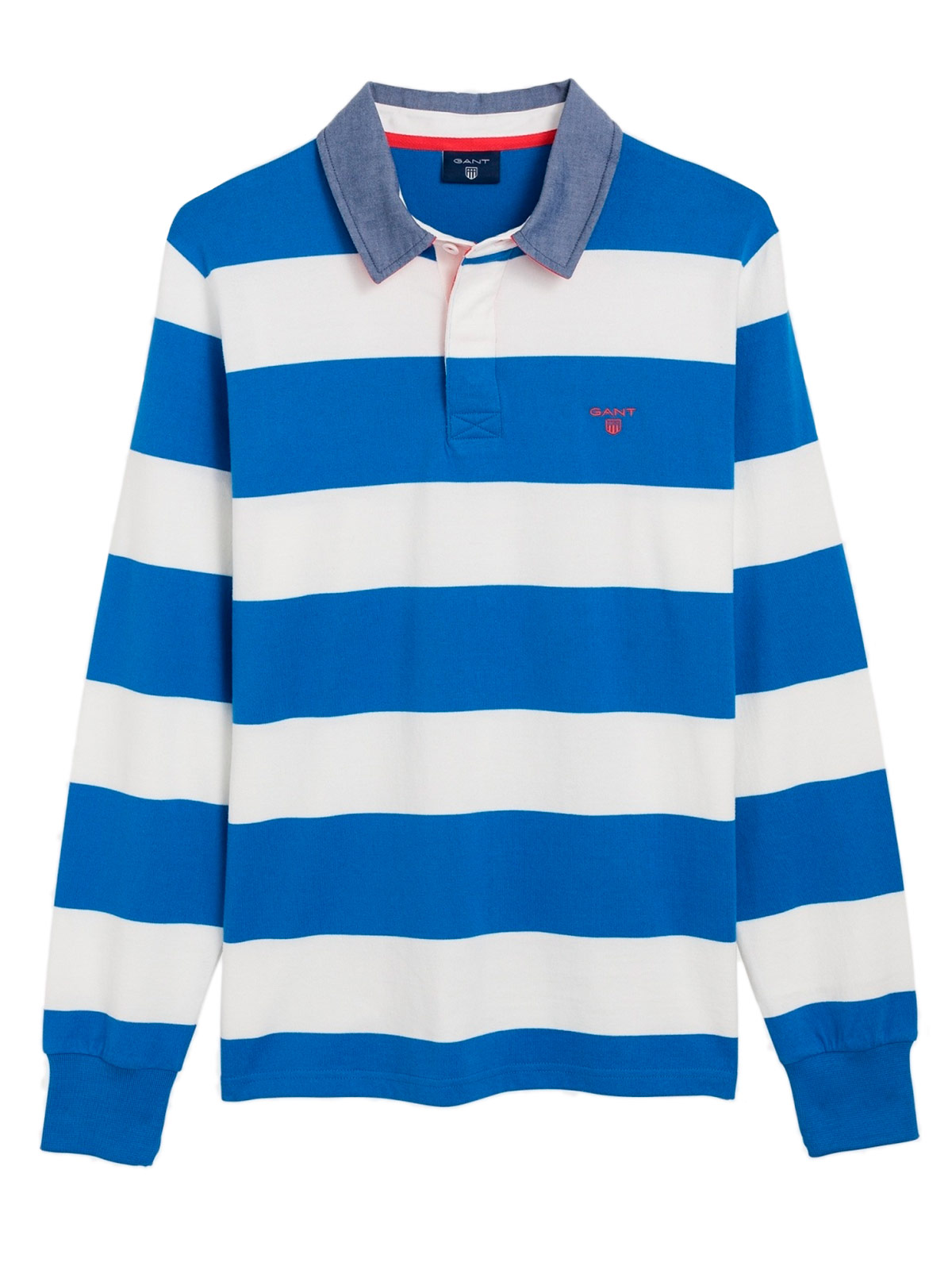Picture of GANT | POLO CONTRAST BARSTRIPE HEAVY RUGGER