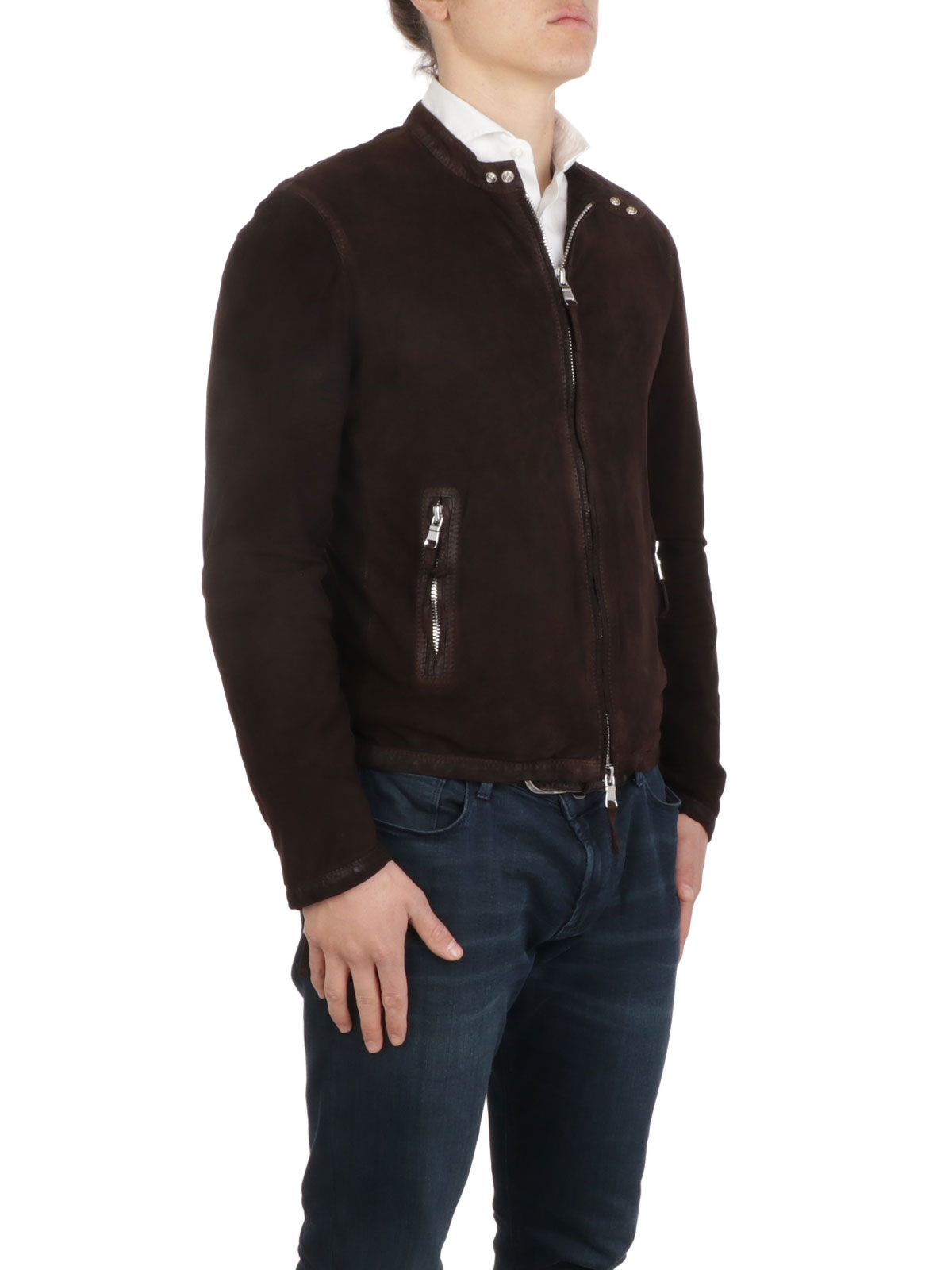 Picture of THE JACK LEATHERS | Men's Valentino 2.0 Suede Jacket