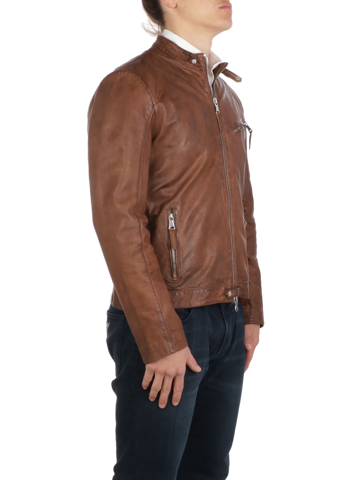 Picture of THE JACK LEATHERS | Men's Murray Leather Jacket