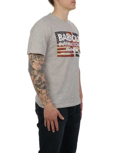 Picture of BARBOUR | Men's T-Shirt Vintage Flag