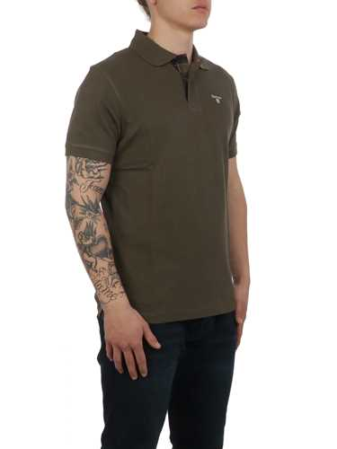 Picture of BARBOUR | Men's Piquet Tartan Polo Shirt