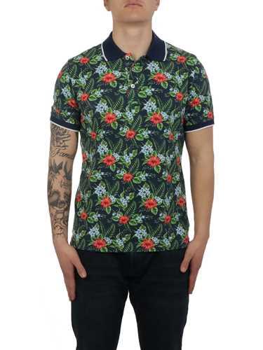 Picture of ALTEA   Men's Floral Polo Shirt