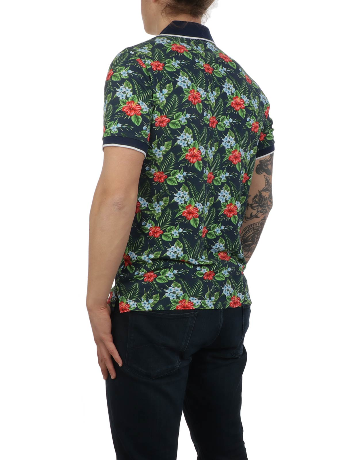 Picture of ALTEA | Men's Floral Polo Shirt