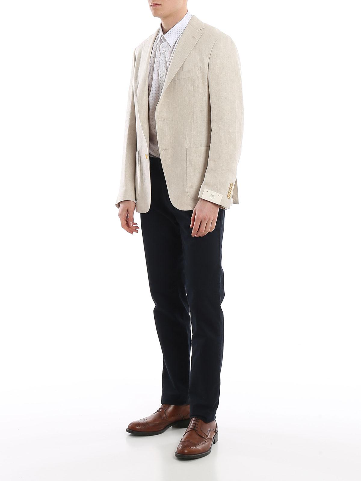 Picture of ELEVENTY   Men's Linen Blazer