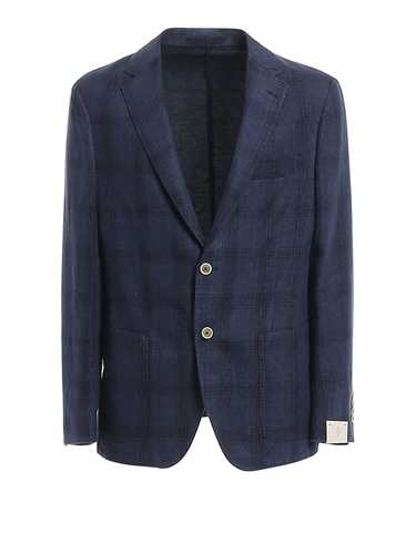 Picture of ELEVENTY | Men's Cotton and Linen Blazer