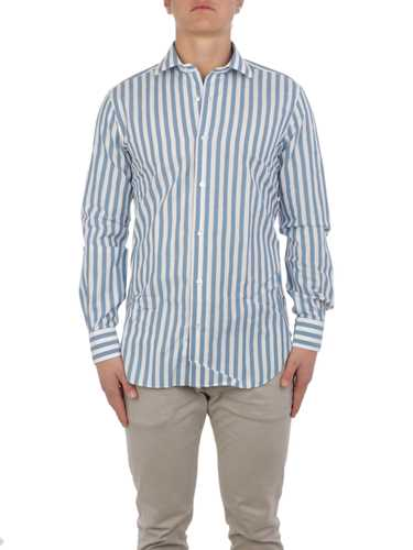 Picture of BARBA | Men's Linen Striped Shirt