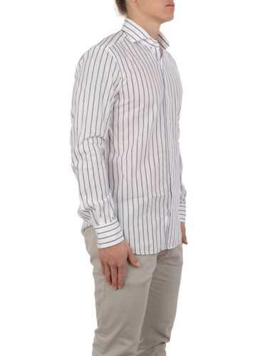 Immagine di BARBA | Camicia Uomo in Lino a Righe
