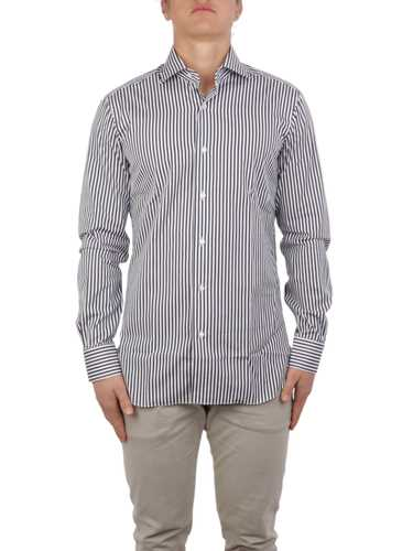 Picture of BARBA | Men's Cotton Striped Shirt