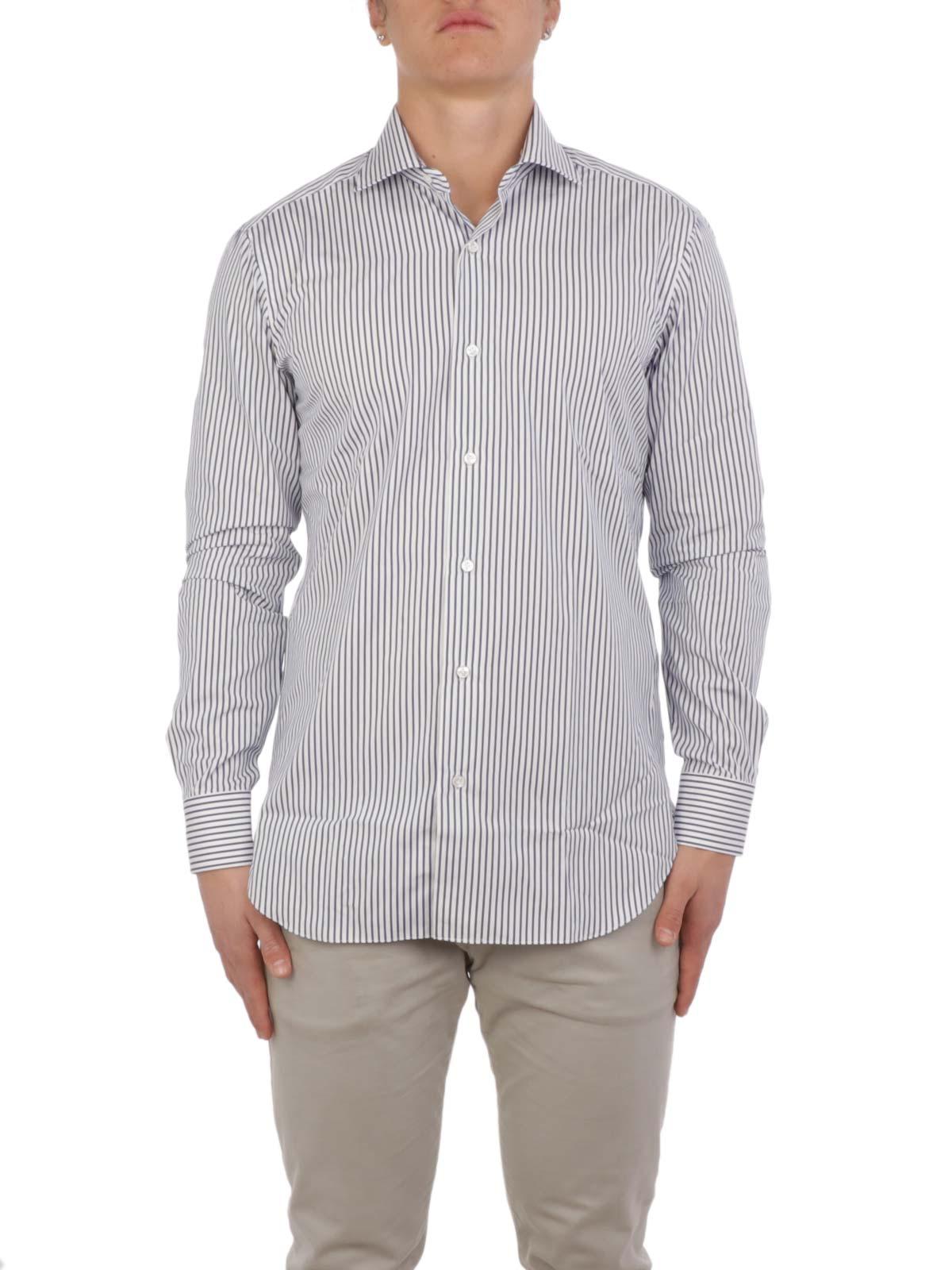 Picture of BARBA | Men's Cotton Striped Shirt