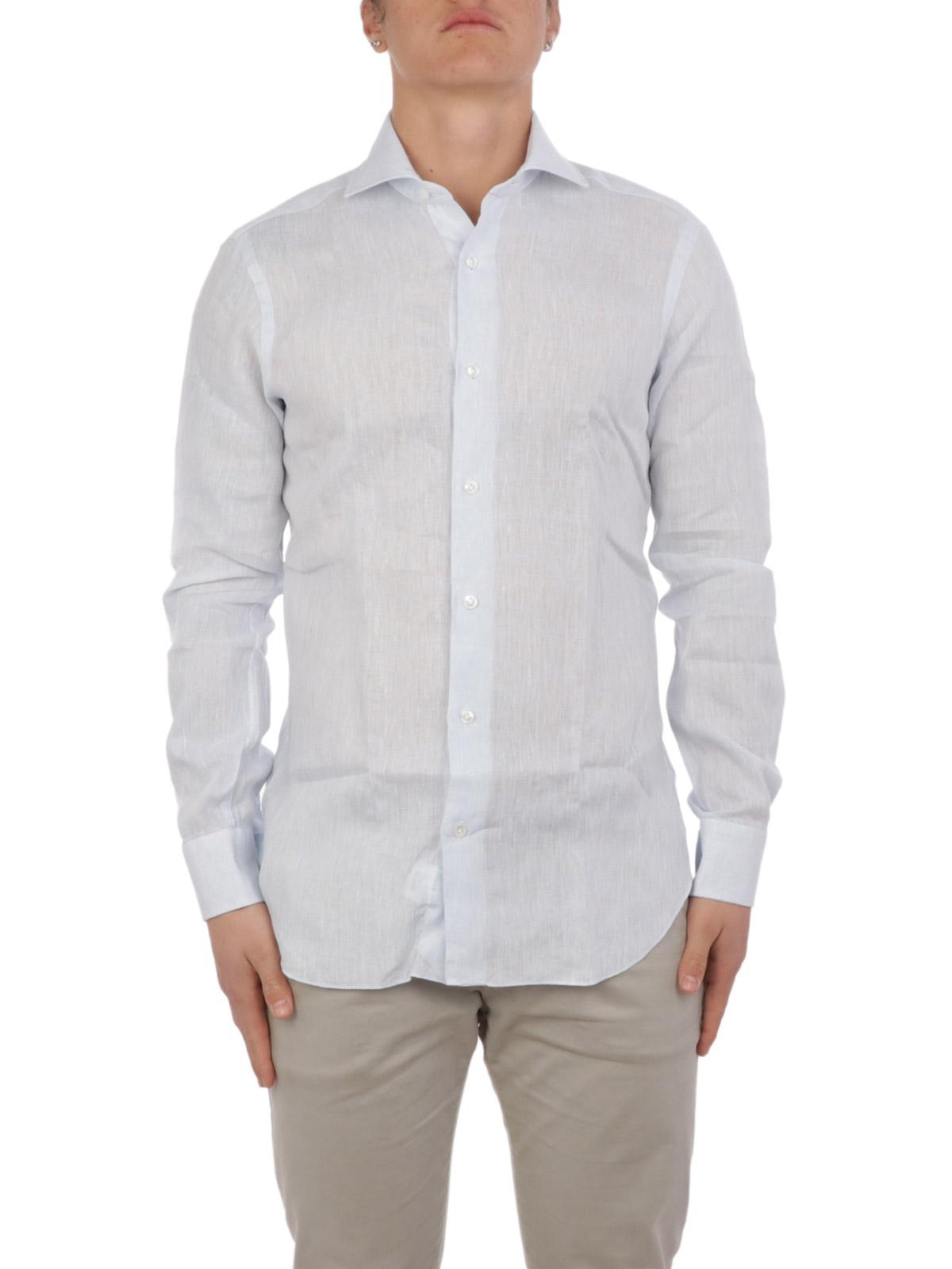 Picture of BARBA | Men's Linen Shirt