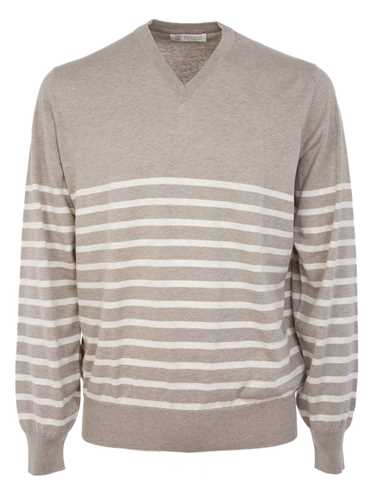 Picture of BRUNELLO CUCINELLI | V-Neck Sweater