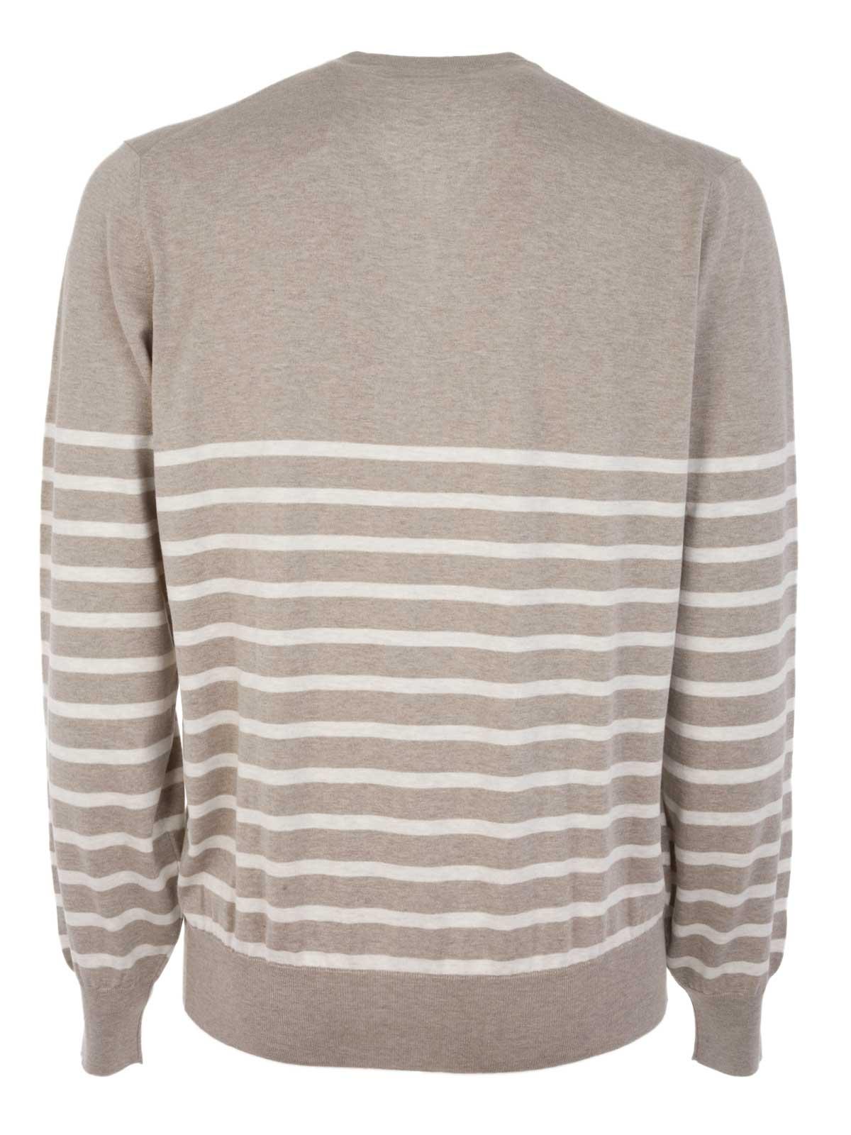 Picture of BRUNELLO CUCINELLI | V-Neck Sweater
