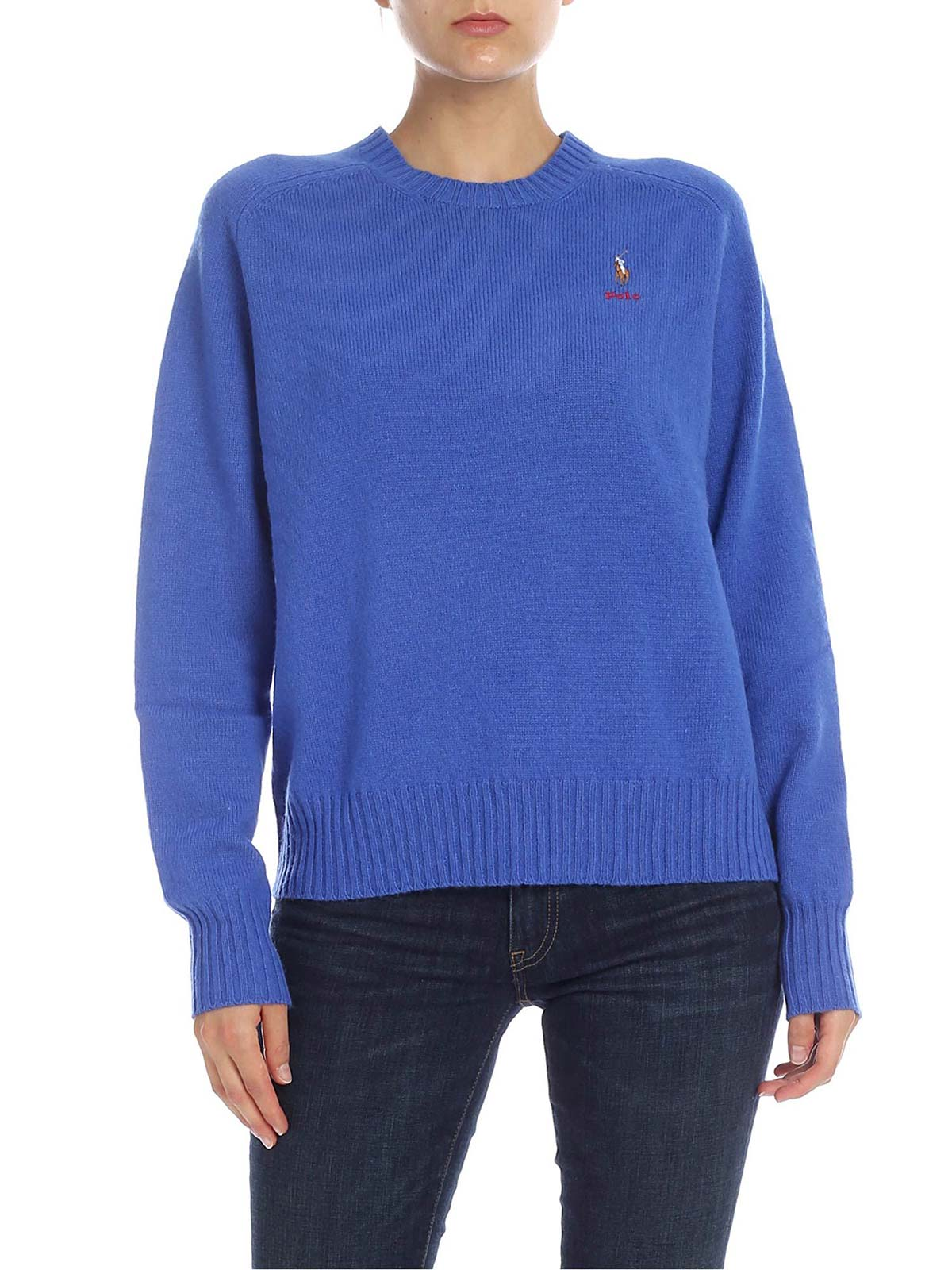 Picture of POLO RALPH LAUREN   Women's Pure Wool Pullover