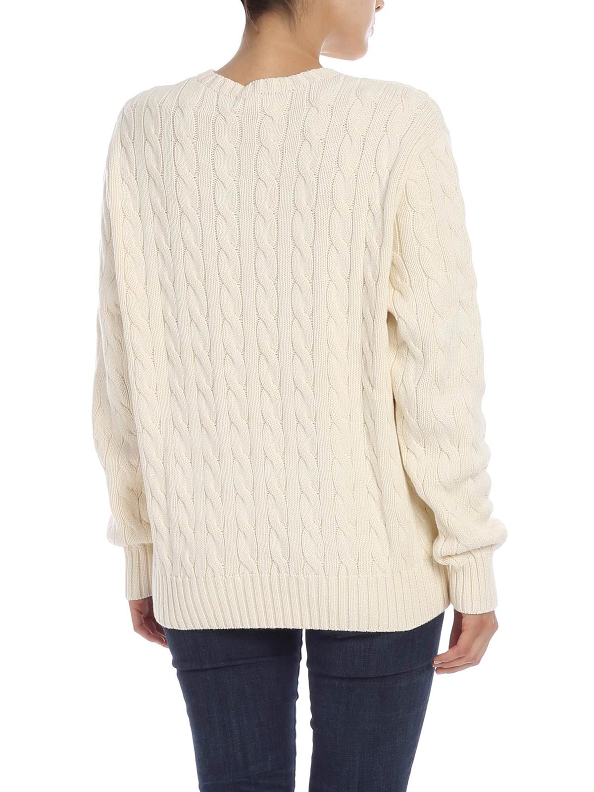 Picture of POLO RALPH LAUREN | Women's Pullover with Heart