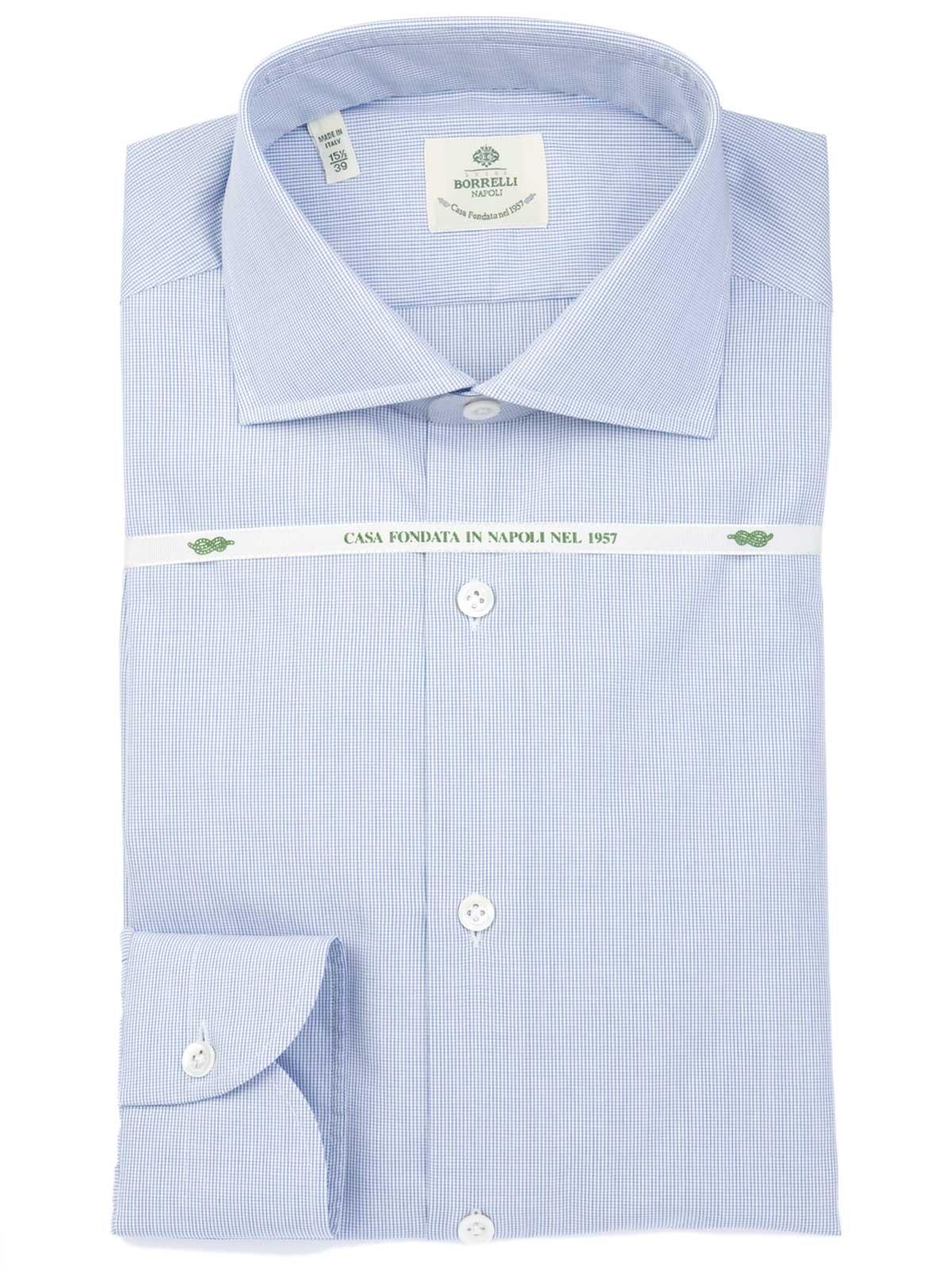 Picture of BORRELLI   Cotton Shirt
