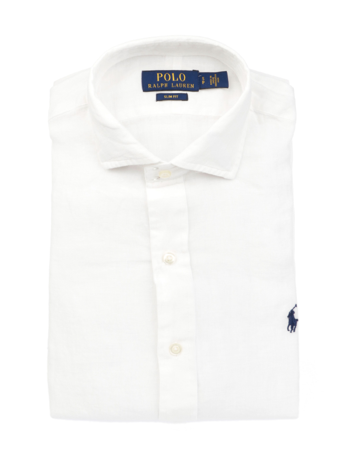 7b0767cdc POLO RALPH LAUREN Men s Linen Shirt White