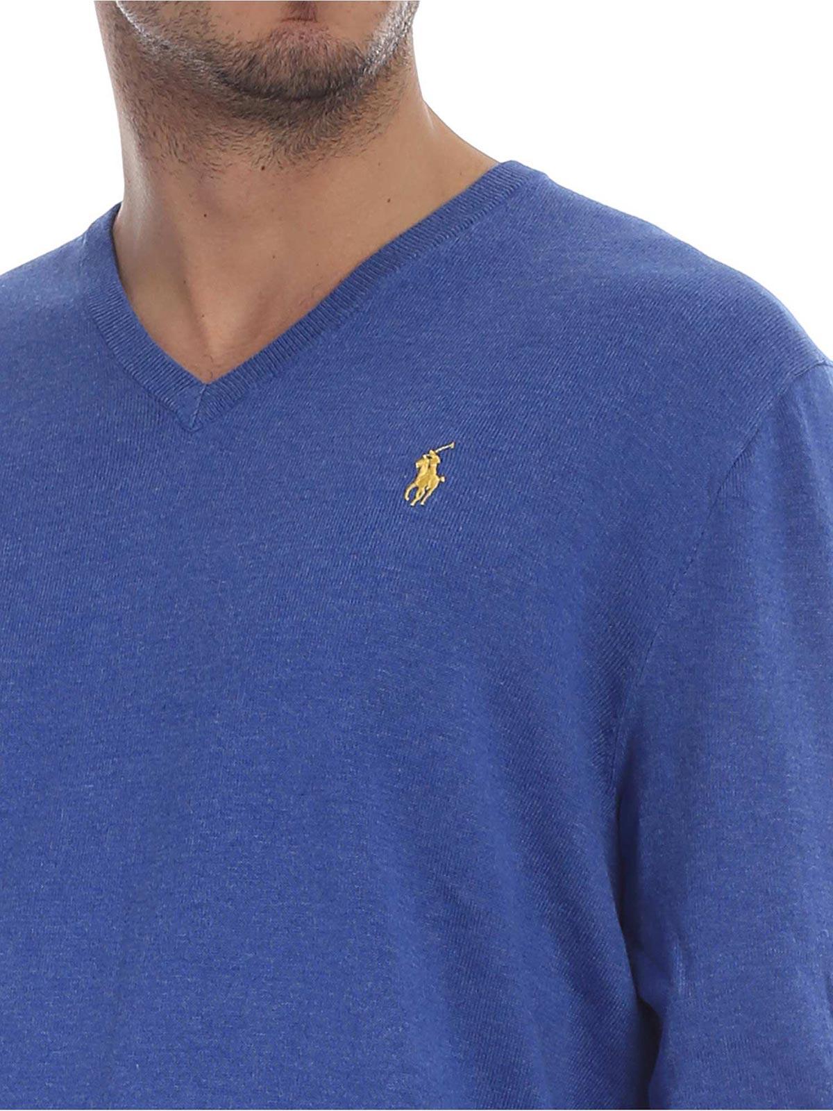Picture of POLO RALPH LAUREN | Men's V-Neck Pullover