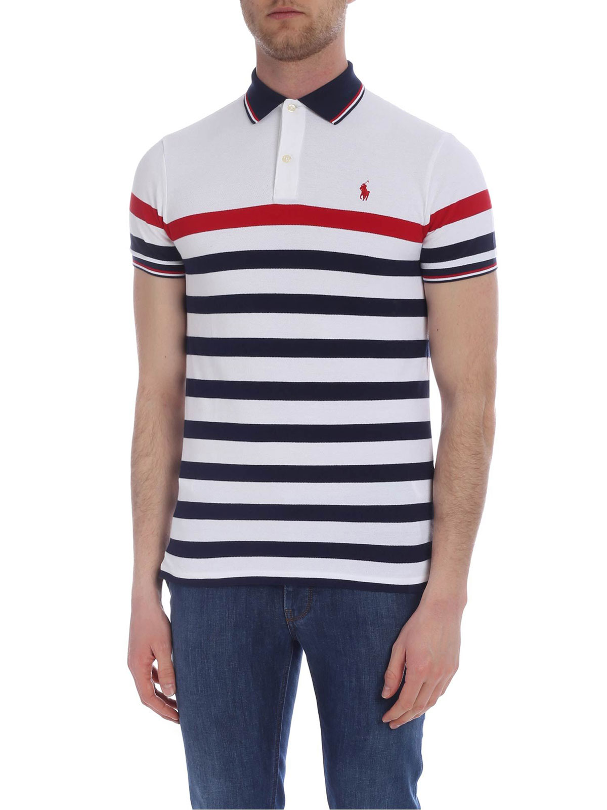 differently 3f5b0 7df5e POLO RALPH LAUREN Men's Striped Polo Shirt