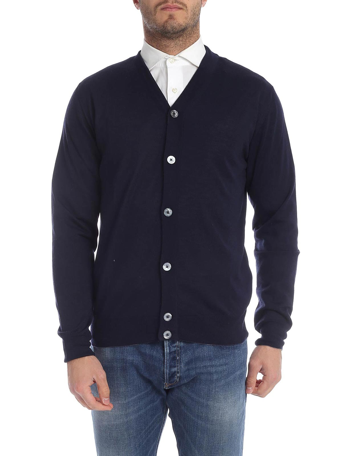 Picture of ELEVENTY | JERSEY CARDIGAN