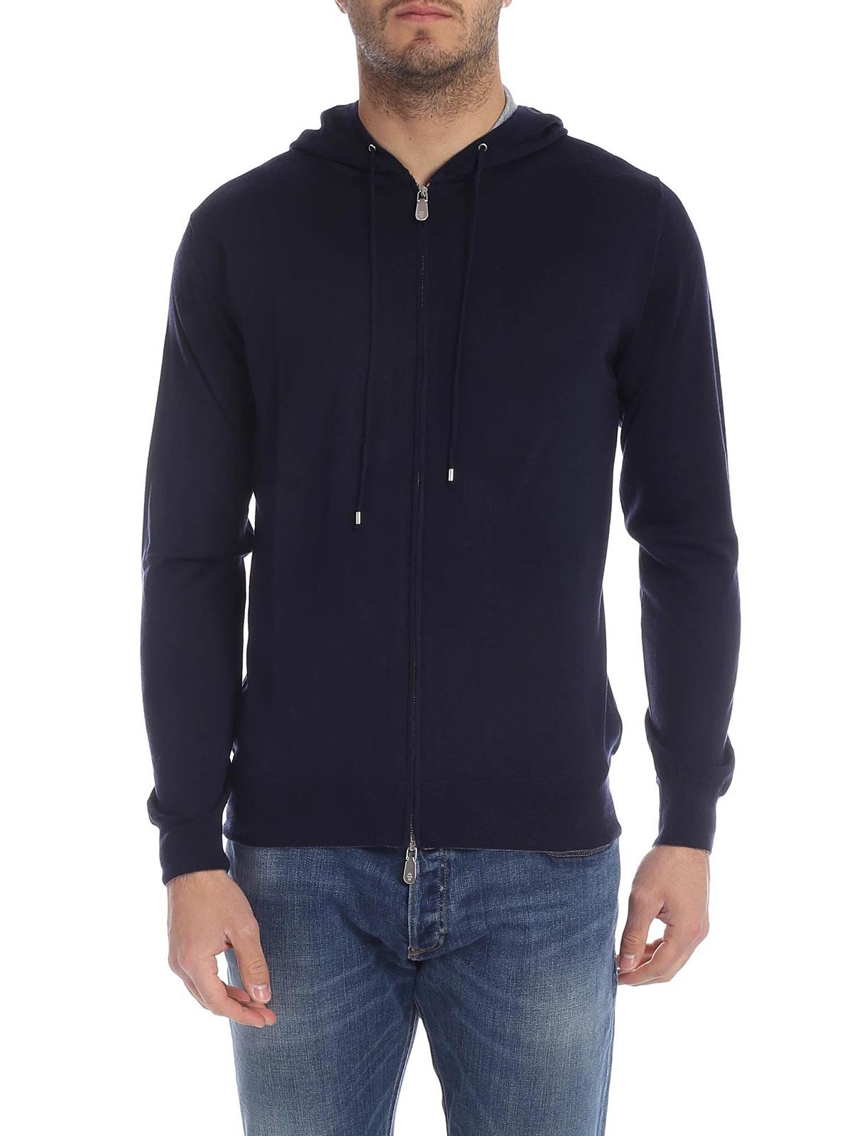 Picture of ELEVENTY | JERSEY FULL ZIP