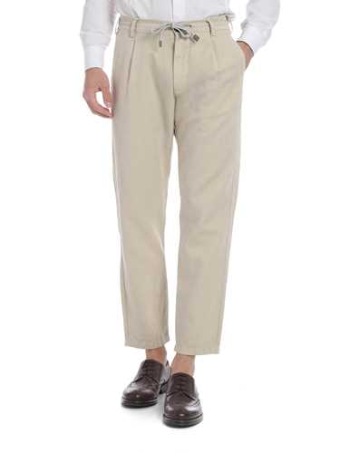 Picture of ELEVENTY | Men's Linen Trousers