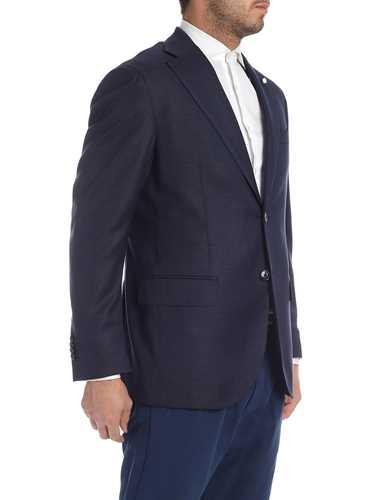 Picture of LUIGI BIANCHI MANTOVA | Men's Lightweight Wool Blazer