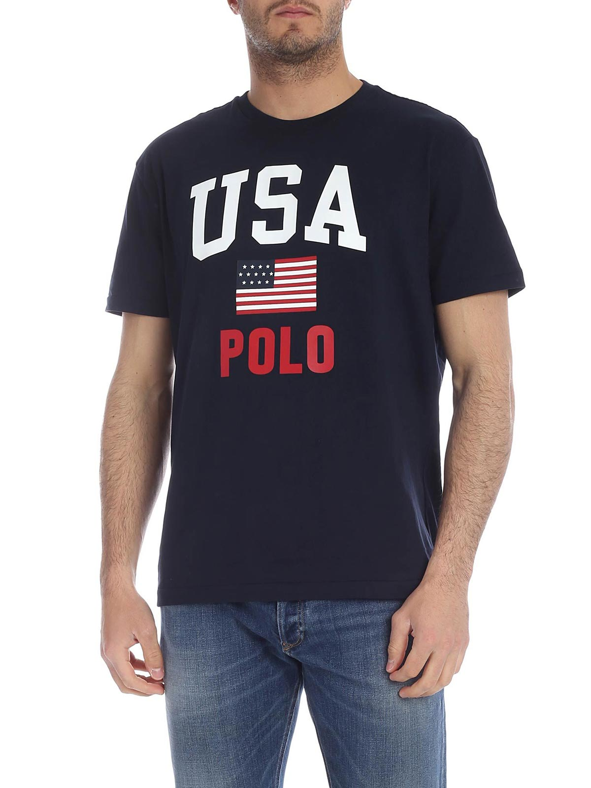 POLO RALPH LAUREN Men's USA Flag T Shirt