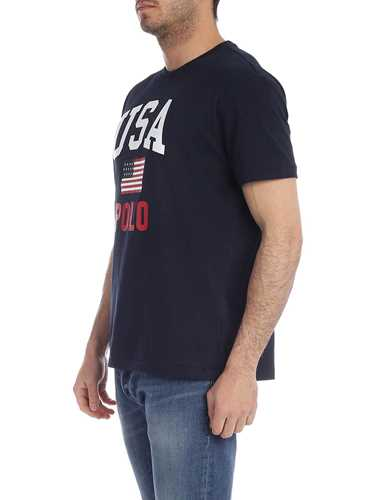 Picture of POLO RALPH LAUREN | Men's USA Flag T-Shirt