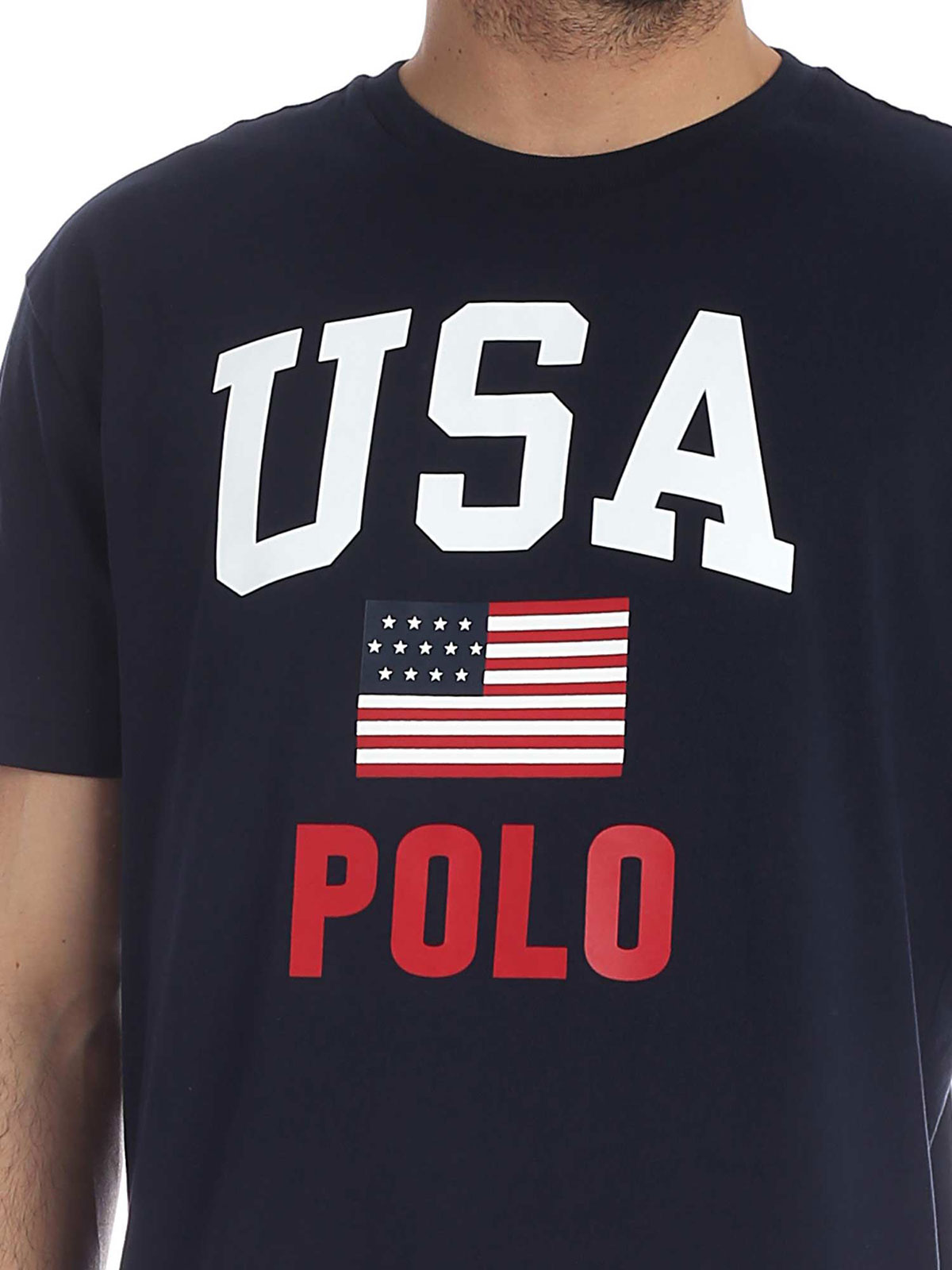 Picture of POLO RALPH LAUREN | Men's USA Flag T-Shirt