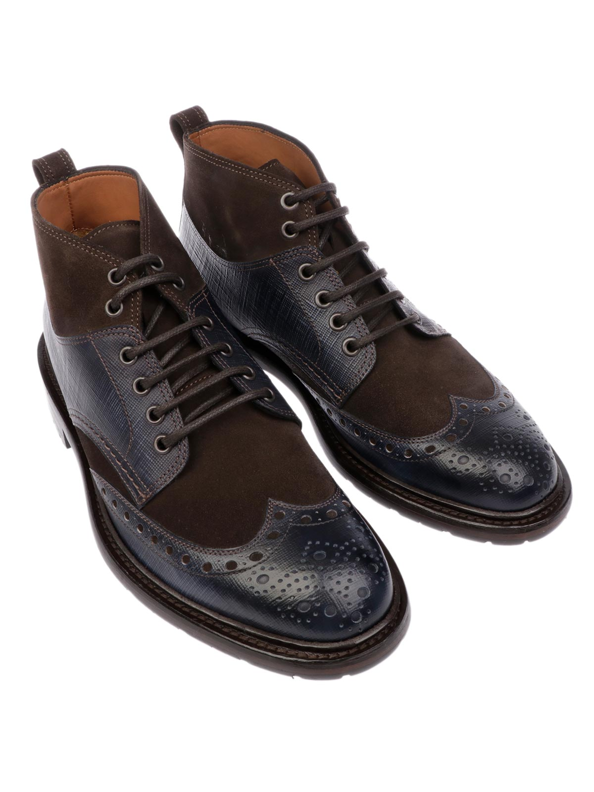 Picture of BOTTI   Men's Leather Ankle Boots