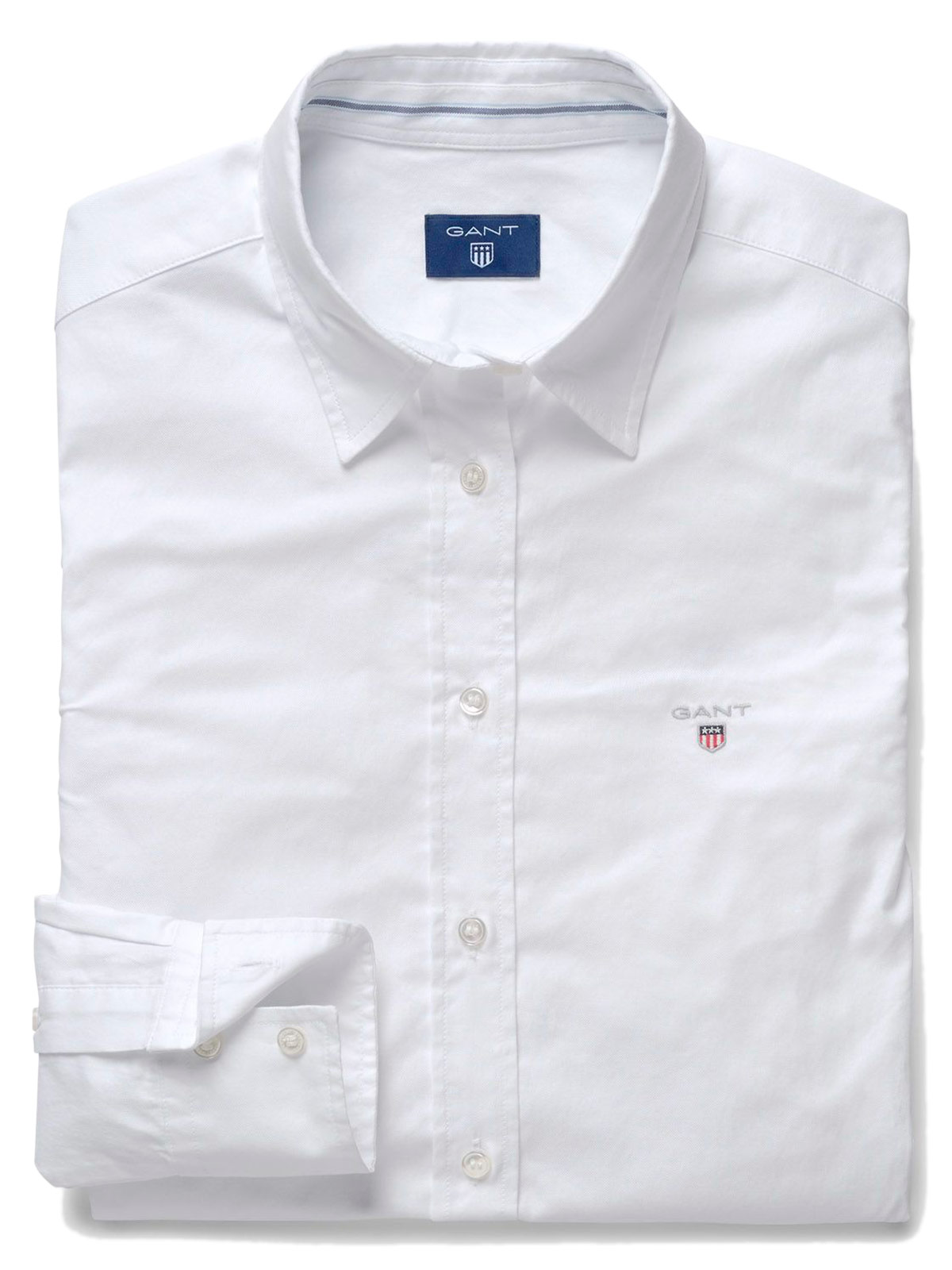 Picture of GANT | Women's Solid Stretch Shirt