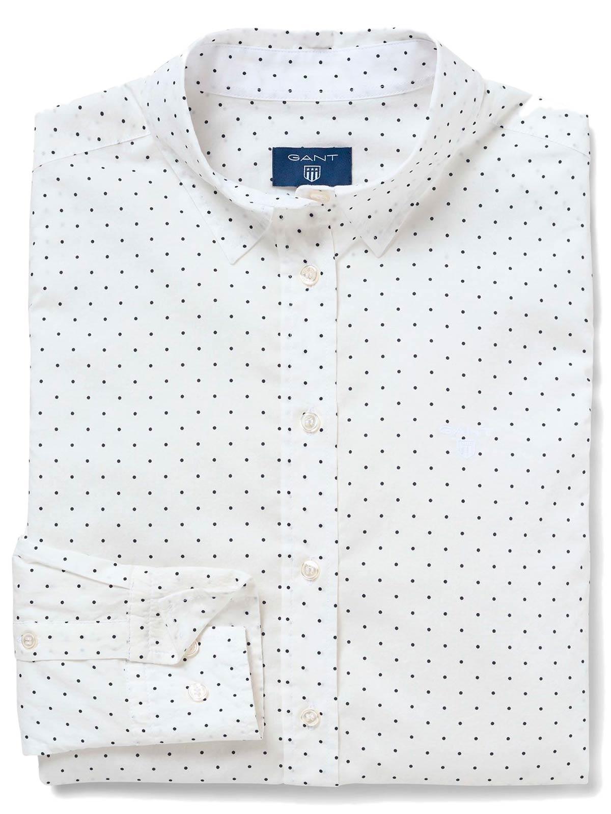 Picture of GANT | Women's Polkadot Stretch Shirt