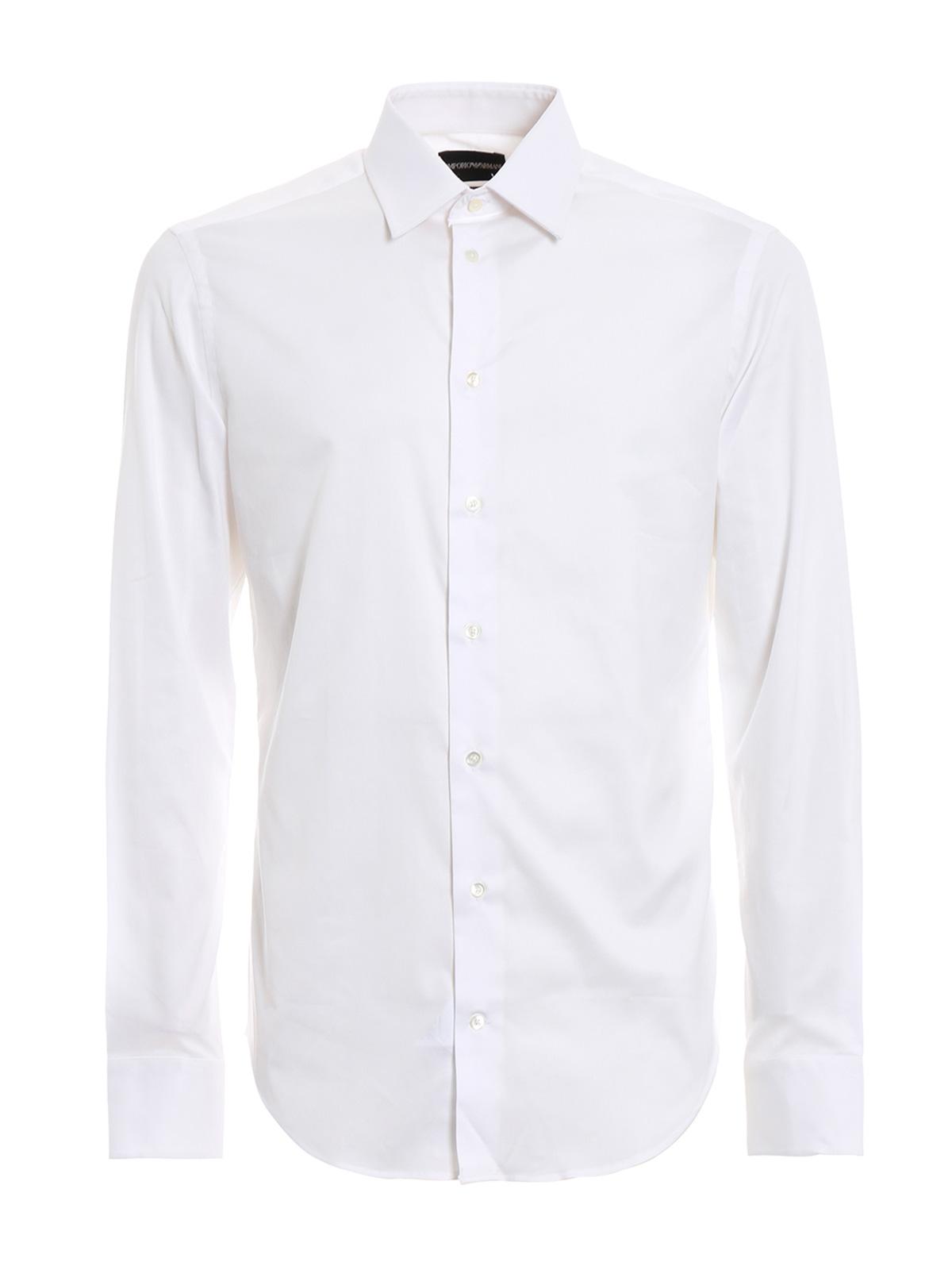 Immagine di EMPORIO ARMANI | Camicia Uomo in Cotone