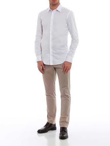 Picture of EMPORIO ARMANI | Men's Cotton Shirt