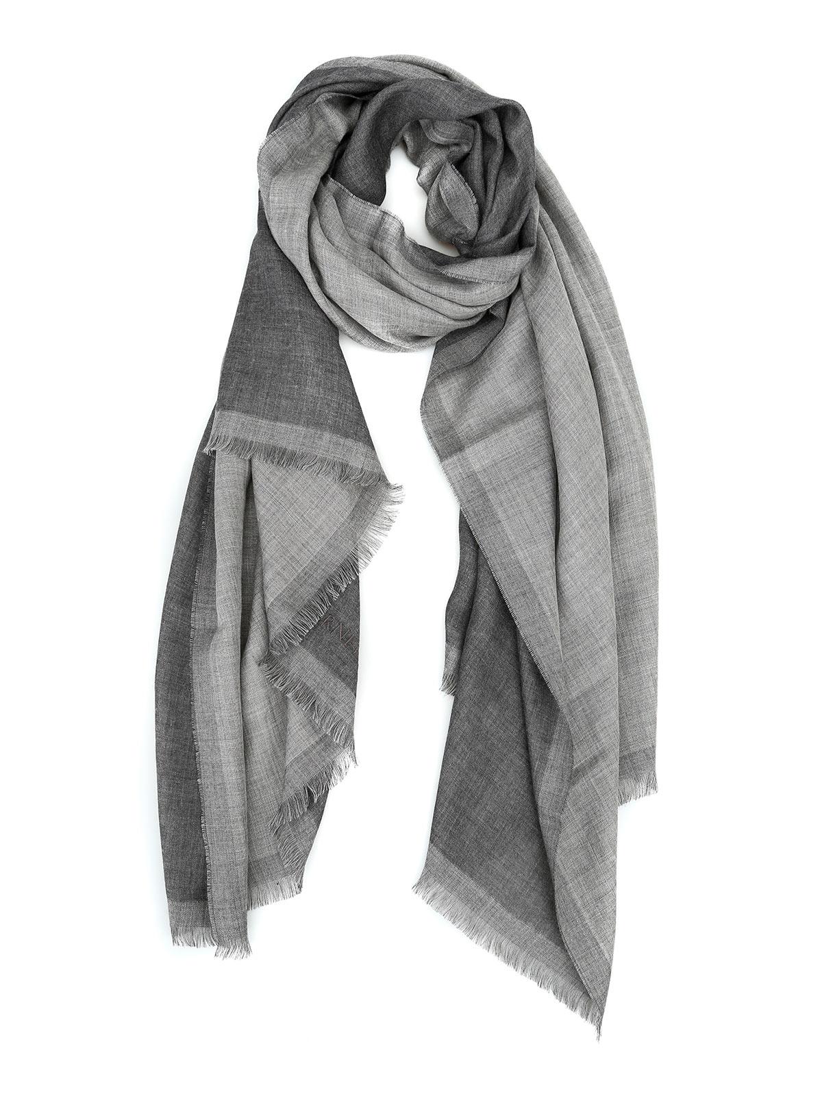 Picture of CORNELIANI | Men's Cashmere and Silk Scarf