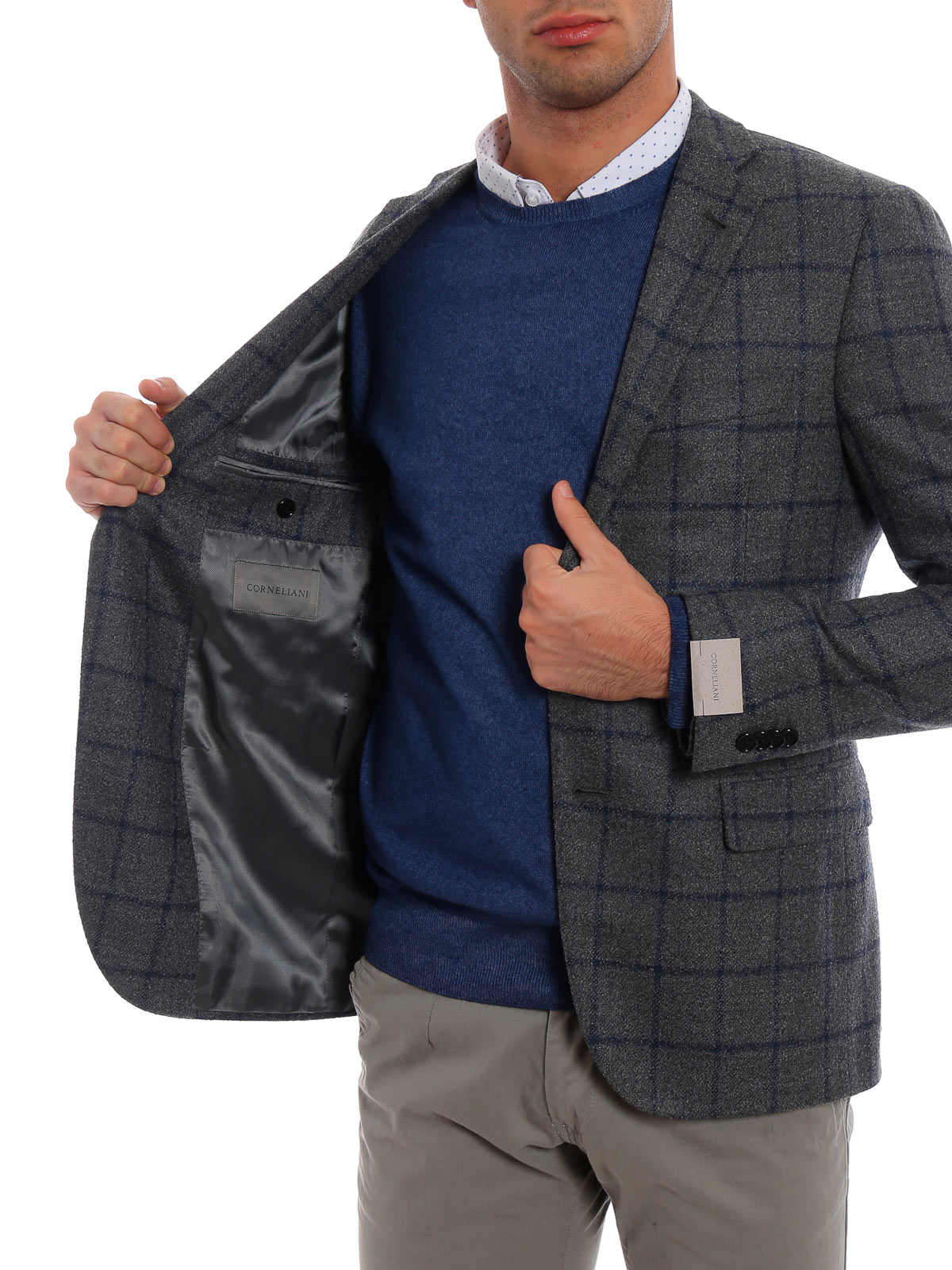 giacca uomo corneliani